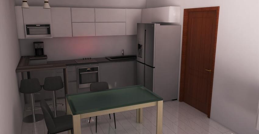 Copy of Copy of with coffee area  bar 5 355 wide Interior Design Render