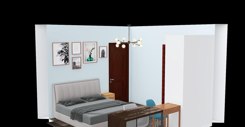 phong ngu master Interior Design Render