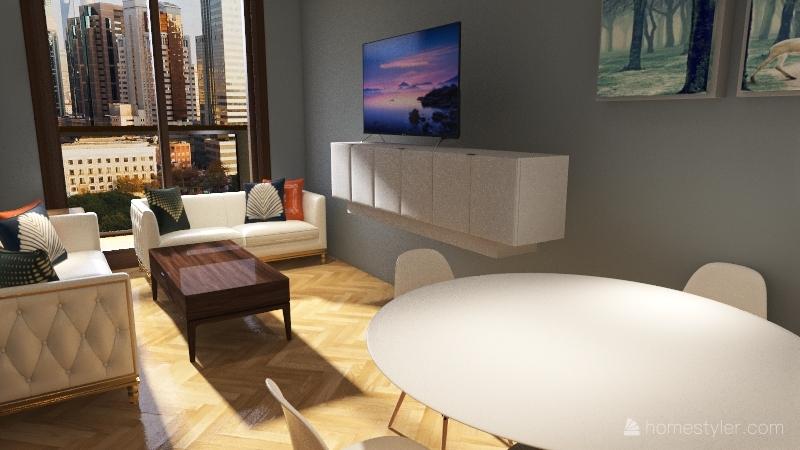 Casa de Irene Interior Design Render