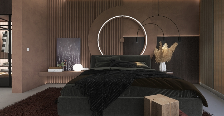 "#HSDA2020Residential"" Butterfly"" Interior Design Render"