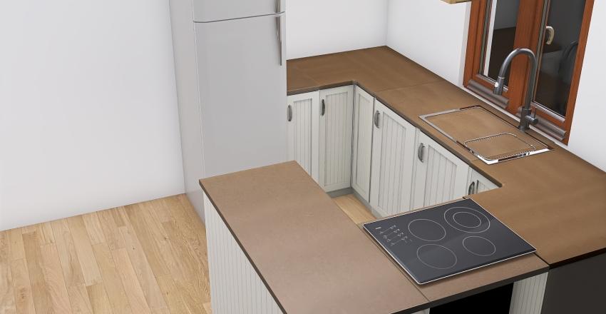 Kuchnia projekt nr 1 Interior Design Render