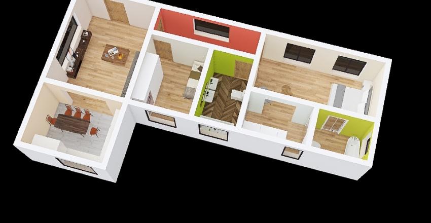 progetto modello Interior Design Render