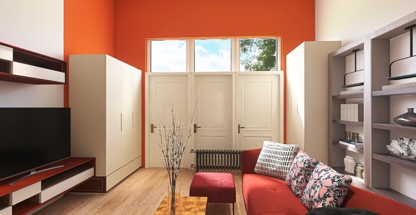 monolocale 8 1 Interior Design Render