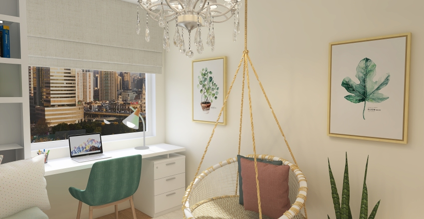 Martina's room Interior Design Render