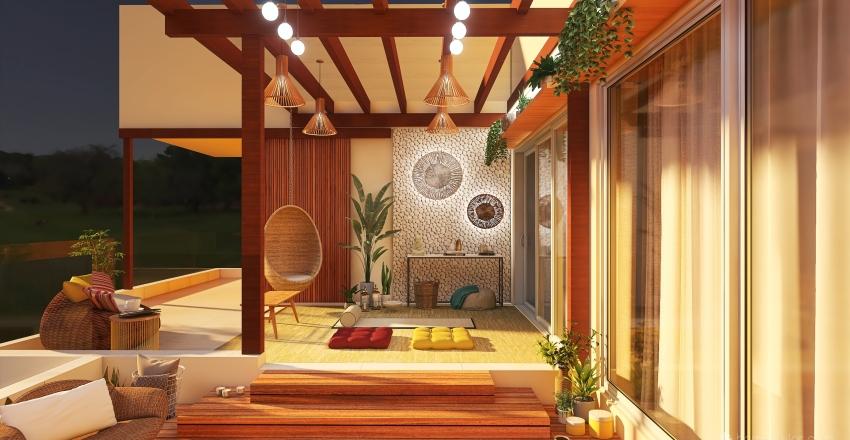 #HSDA2020Residential VARANDA ZEN Interior Design Render