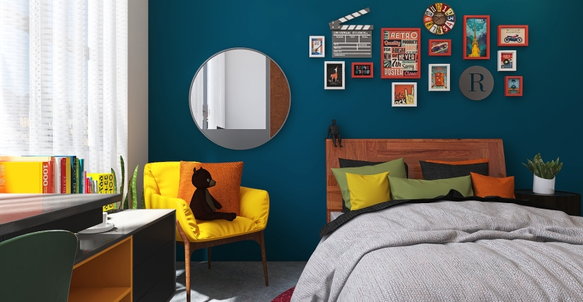 POP Depa I Interior Design Render