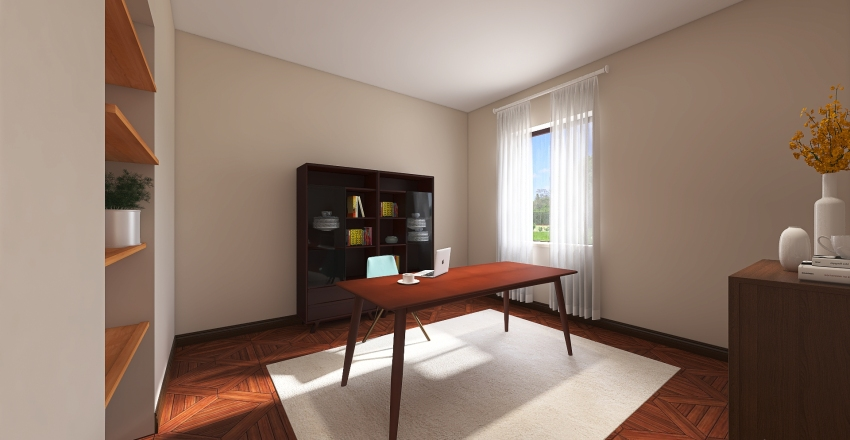 Lungo Po Interior Design Render