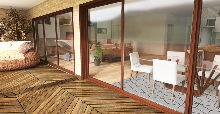 ape de praia Interior Design Render