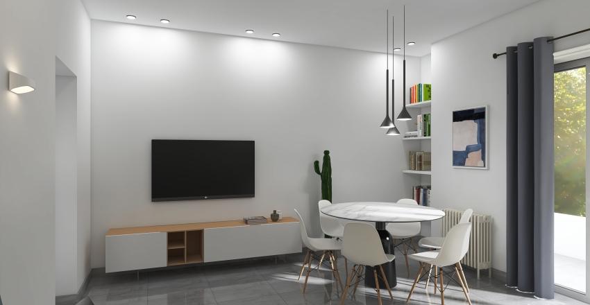 viale mecenate Interior Design Render