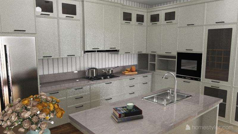 1949 House Interior Design Render