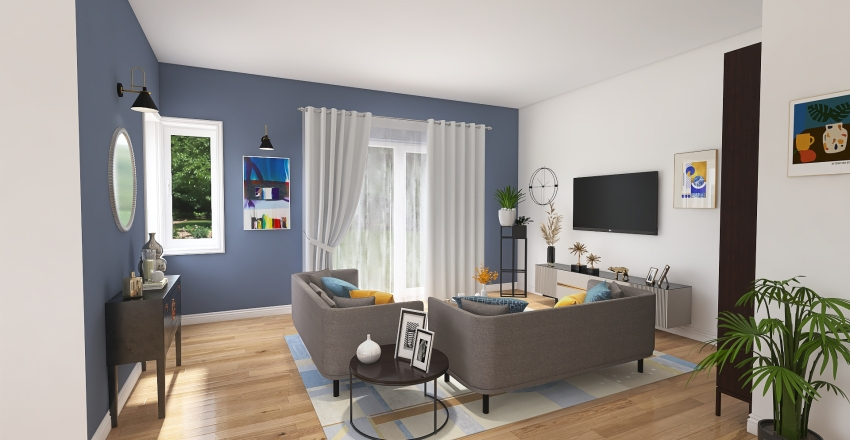 VILLETTA_A4 Interior Design Render