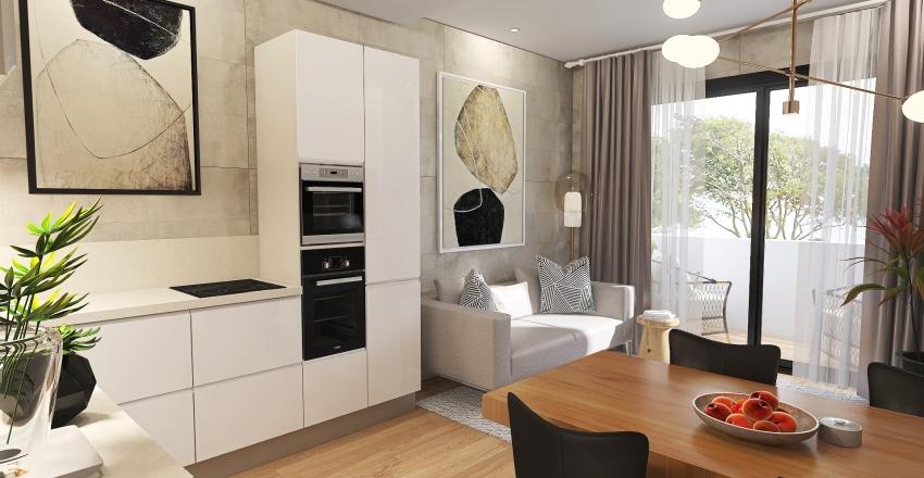 Junqueiro T2 Interior Design Render