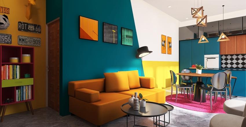 POP Depa III Interior Design Render