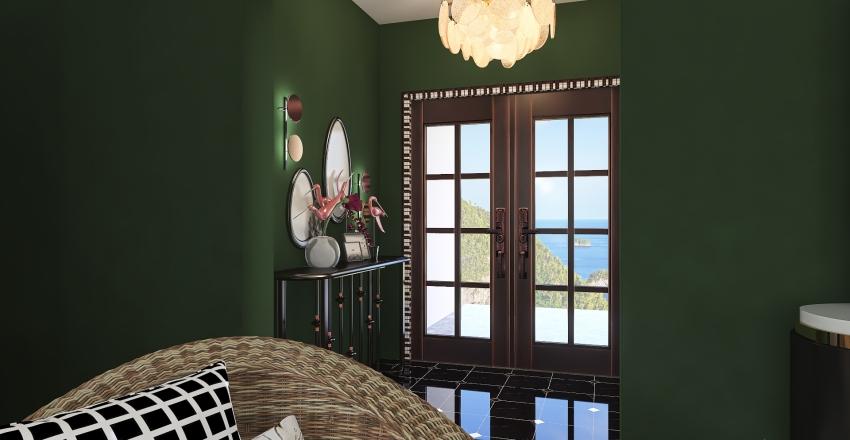 Alana's Island Home Interior Design Render