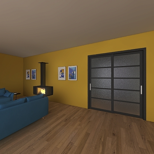 House Project 2 Interior Design Render