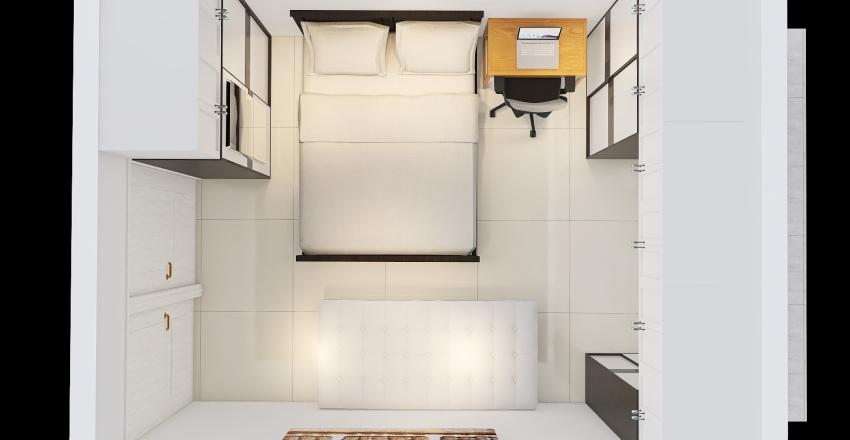 Platinum Gardenia 3 BHK Ver 1.0 Interior Design Render