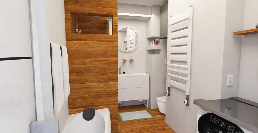 v2_Design Bathroom No.2 Interior Design Render