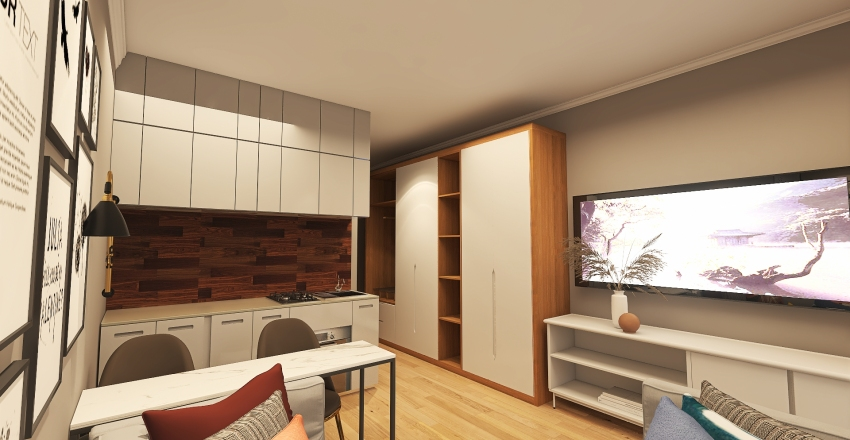 РУБЛЕВСКИЙ Interior Design Render