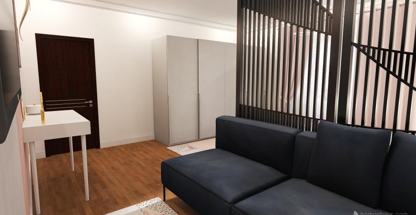 v2_nice bedroom Interior Design Render