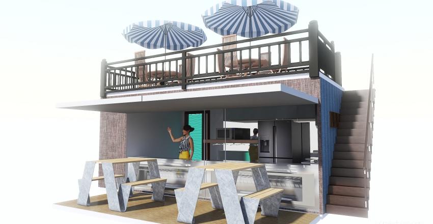 postres-bano-terraza Interior Design Render