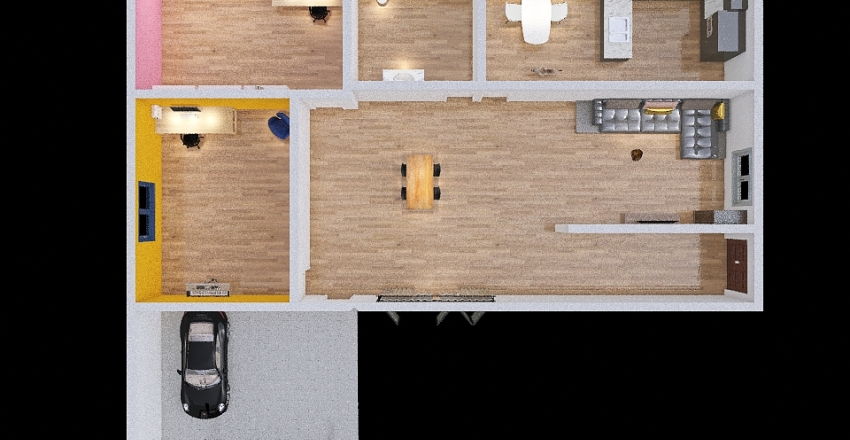 Casa Sabri Interior Design Render