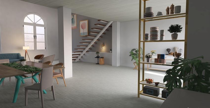 the loft Interior Design Render