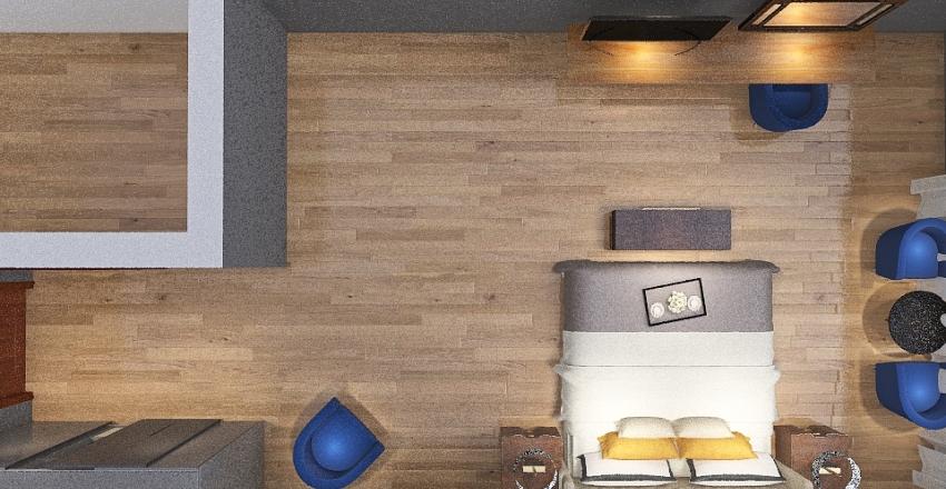 137-Suite Interior Design Render