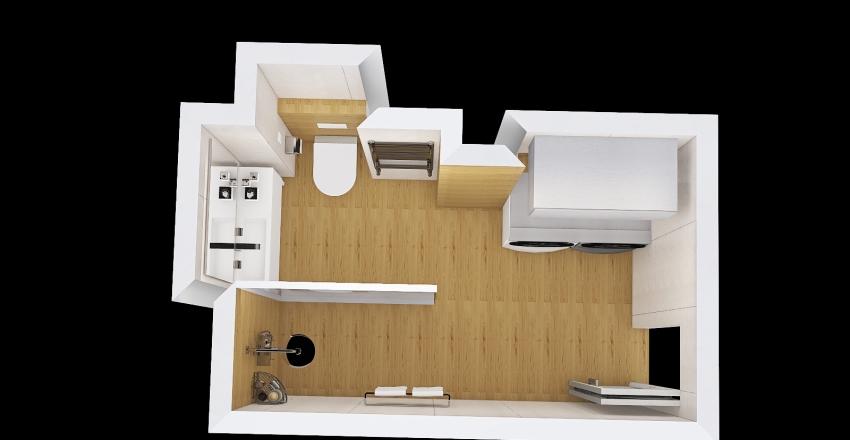 Design bathroom v.3 Interior Design Render