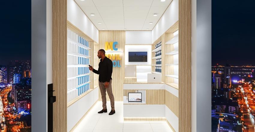 MOVILCOOL Interior Design Render