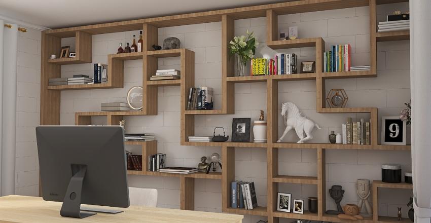 Escritorio Interior Design Render