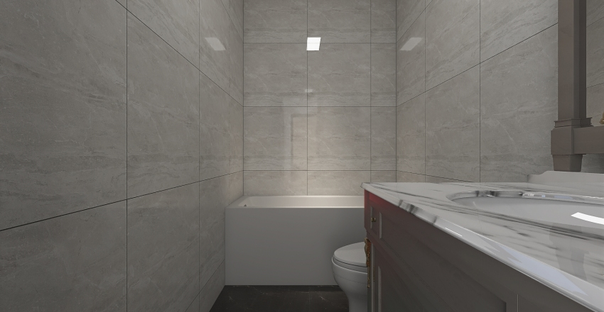 Apartament 1 Interior Design Render