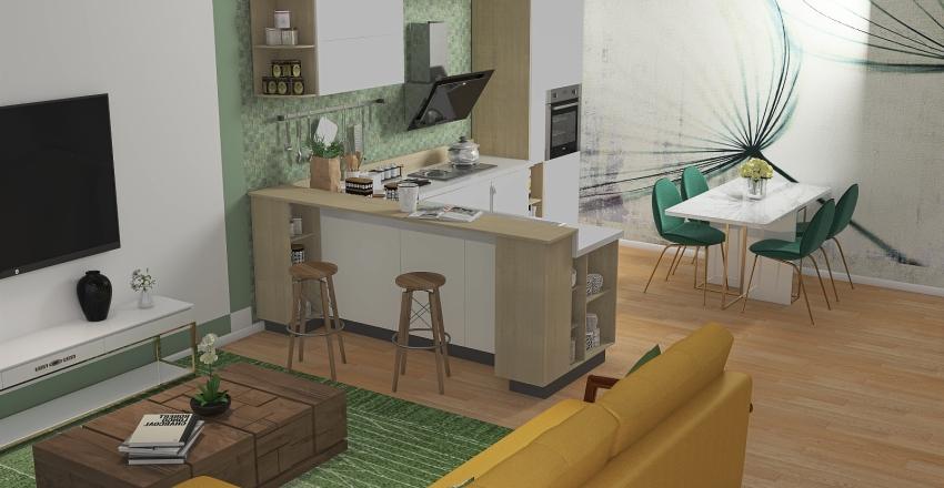 piccolo open space Interior Design Render