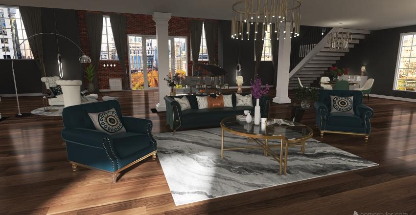 Classic perfect Interior Design Render