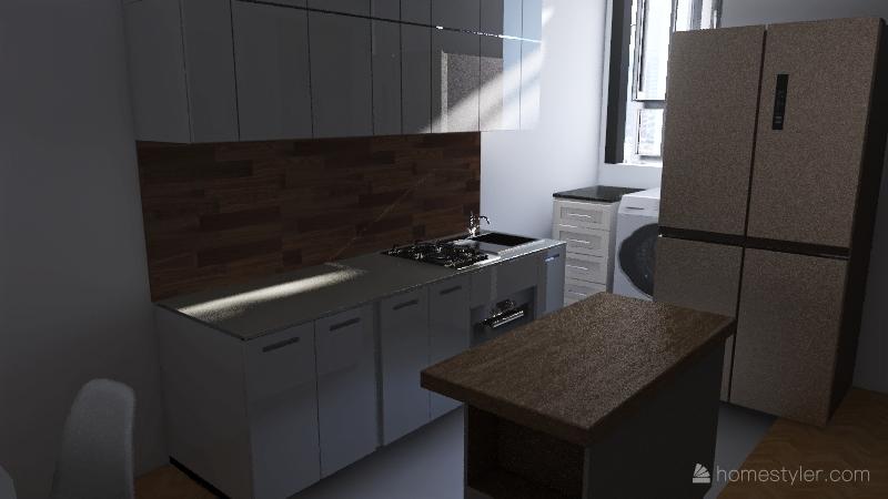 v2_apto Olga v3 Interior Design Render