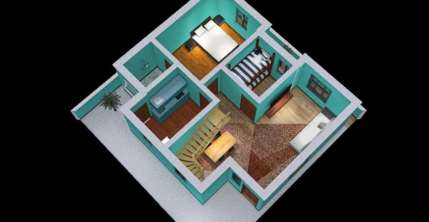 Christy-House Interior Design Render