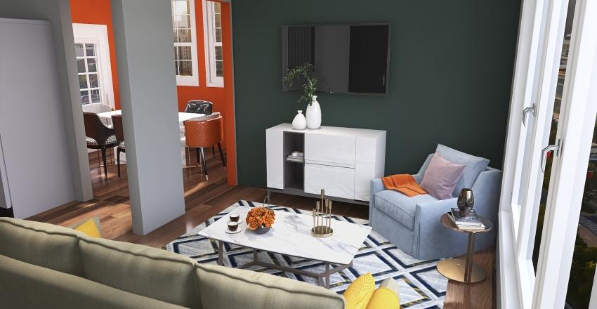 951 House Interior Design Render