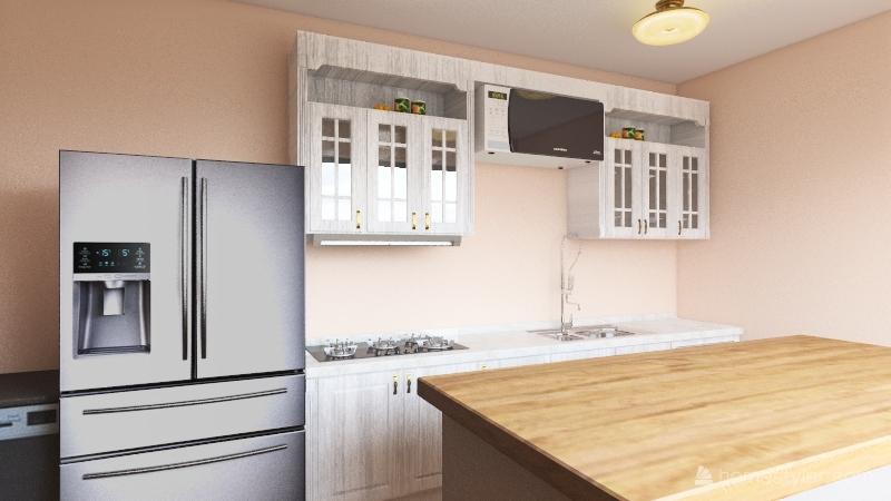 Verheyen - Open Concept Floorplan Interior Design Render
