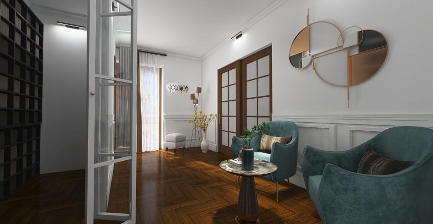 Studio Legale Interior Design Render