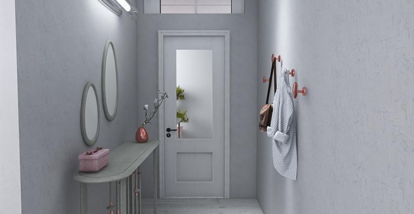 Single Lady Apartment Interior Design Render