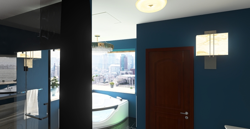 Tyler Peterson's Dream Bathroom Interior Design Render