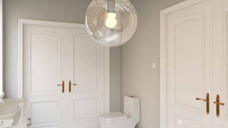 Copy of cute boho minimalist home Interior Design Render