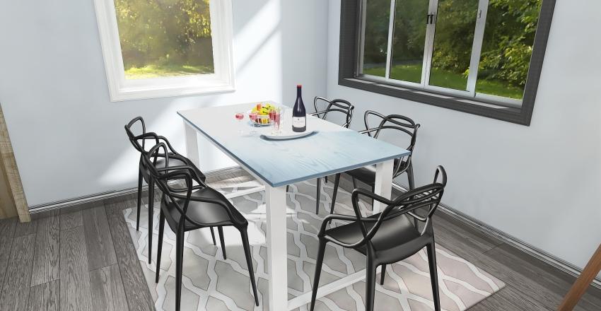 #3817 Vacation Condo Interior Design Render