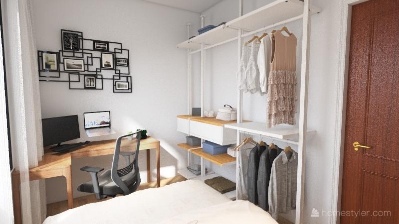 Quarto_AP_Well Interior Design Render
