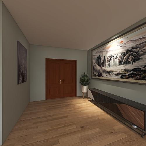 Aaron's House Interior Design Render