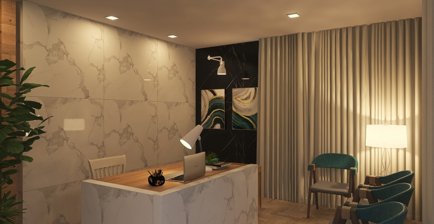 MK Arq & Eng Interior Design Render