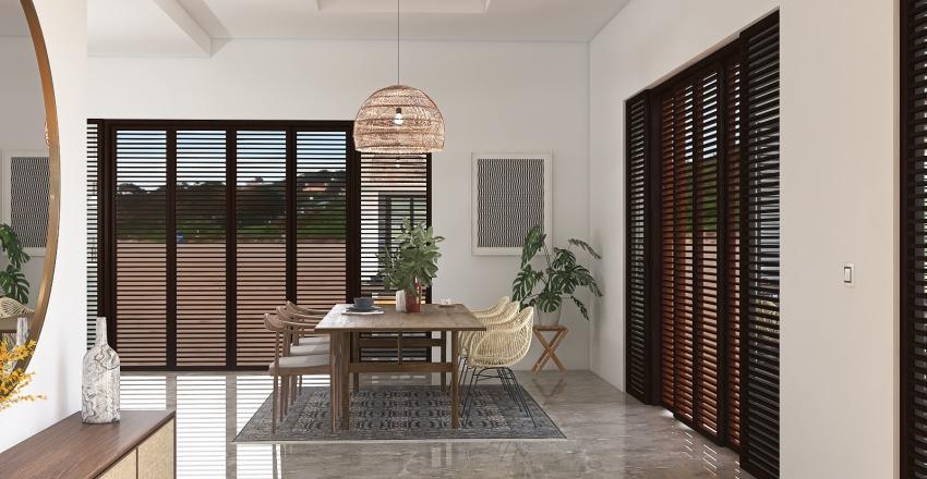 Villa Hutton Interior Design Render