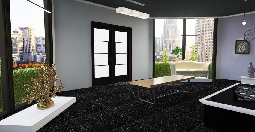 Art Gallery Interior Design Render