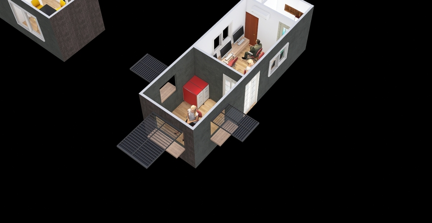Copy of Oficina Pasto Interior Design Render