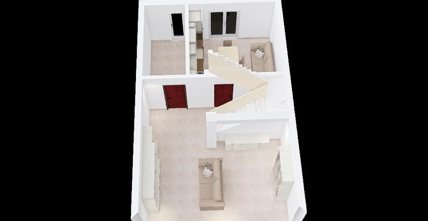casa m&c Interior Design Render