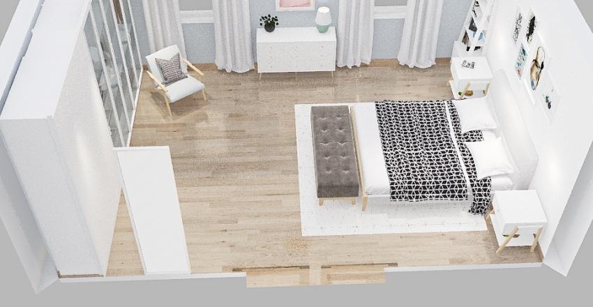 Dormitorio Interior Design Render
